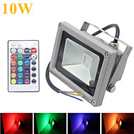 10W LED-schijnwerperlampen 1 Geïntegreerde LED 1000LM lm RGB Op afstand bedienbaar / Decoratief / Waterbestendig DC 12 V 1 stuks