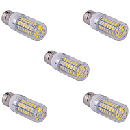 15W E14 / G9 / E26/E27 LED-kolbepærer T 60 SMD 5730 1500 lm Varm hvid / Kold hvid AC 85-265 V 5 stk.