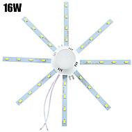 1 pcs YWXLIGHT 16W 32 SMD 5730 1280 lm Cool White Decorative LED Ceiling Lights AC 220-240 V