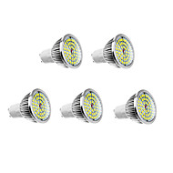 6W GU10 Faretti LED 48 610 lm Bianco caldo / Bianco AC 100-240 V 5 pezzi