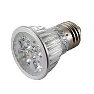 4W E26/E27 LED-spotpærer MR16 4 Høyeffekts-LED 400 lm Varm hvit / Kjølig hvit Dimbar / Dekorativ AC 85-265 V 1 stk.