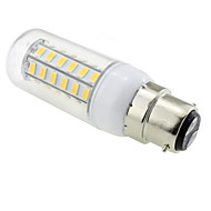 7W E14 / G9 / GU10 / E12 / B22 LED Corn Lights T 48 SMD 5730 600 lm Warm White AC 220-240 V