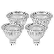 3W GU5.3(MR16) Lâmpadas de Foco de LED MR16 1 COB 240-270 lm Branco Quente / Branco Frio Decorativa DC 12 / AC 12 V 4 pçs