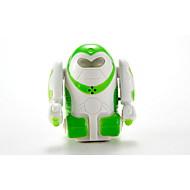 YQ YQ88192-3 Verde Robot Radio Control Robot-giocattolo