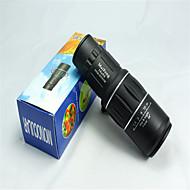 MaiFeng 16X52 mm 単眼鏡 高解像度 ポータブル 一般用途向け バードウォッチング BAK4 マルチコーティング 66M/8000M センターフォーカス