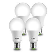 E26/E27 LED Λάμπες Σφαίρα A60(A19) 1 COB 850-900 lm Θερμό Λευκό Ψυχρό Λευκό Διακοσμητικό AC 100-240 V 4 τμχ