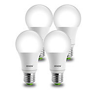 IENON®  4 pcs 9W E26/E27 LED Globe Bulbs A60(A19) 1 COB 850-900 lm Warm White / Cool White Decorative AC 100-240 V