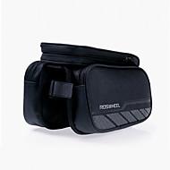 ROSWHEEL® 자전거 가방 1.8L자전거 프레임 백 방수 지퍼 / 방습 / 충격방지 / 착용할 수 있는 싸이클 가방 메쉬 / Terylene 싸이클 백 사이클링 18.5*11.5*8