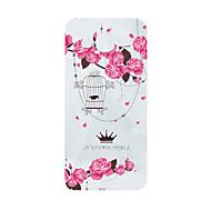 Para Samsung Galaxy Capinhas Estampada Capinha Capa Traseira Capinha Flor Macia TPU J5