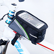 ROSWHEEL® 자전거 가방 1.7L자전거 프레임 백 방수 지퍼 / 방습 / 충격방지 / 착용할 수 있는 싸이클 가방 PVC / 메쉬 / Terylene 싸이클 백 사이클링 18*8.5*8.5