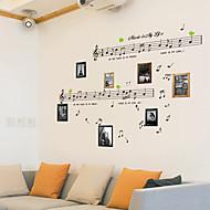 Muziek / Stilleven / Mode / Vintage / Vrije tijd Wall Stickers Vliegtuig Muurstickers,PVC 70*50*0.1