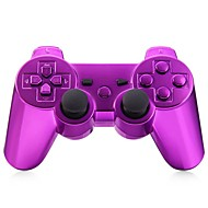 console bluetooth jeu gamepad sans fil pour goldplated ps3 (multicolore)