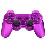 trådløs bluetooth gamepad spillekonsol til ps3 forgyldt (flerfarvet)