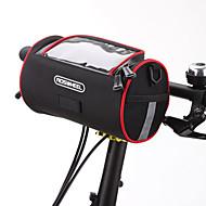 ROSWHEEL® 자전거 가방 2.8L어깨에 매는 가방 / 자전거 핸들바 백 방수 지퍼 / 방습 / 충격방지 / 착용할 수 있는 싸이클 가방 PU 피혁 / PVC / 메쉬 / 의류 / Terylene / 400D 나일론 싸이클 백 사이클링