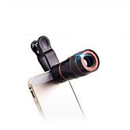 8X18 mm Monokulær Komapkt Størrelse Mobiltelefon Generelt Brug Fuglekiggeri BAK4 Fuld multi-coated 250/1000