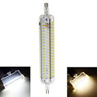 10W R7S LED Mais-Birnen T 152 SMD 4014 800 lm Warmes Weiß / Kühles Weiß Dekorativ / Wasserdicht AC 220-240 V 1 Stück