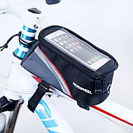 ROSWHEEL® 자전거 가방 1.7L자전거 프레임 백 방수 지퍼 / 방습 / 충격방지 / 착용할 수 있는 싸이클 가방 PVC / 메쉬 / Terylene 싸이클 백 사이클링 19.5*10*9