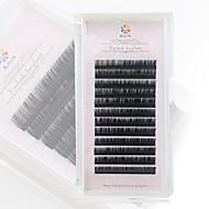 A box has 12 rows of eyelashes ripsien Silmäripsi Yksittäiset irtoripset Silmät / Silmäripsi Luonnollisen pitkät Pidennetty / Suurennettu