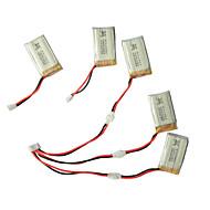 Syma X5C/X5C-1 Explorers Parts X5C-11 3.7V 500mAh Update 3.7V 650mAh Lipo Battery 3 in 1 Cable line x 5pcs