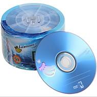 banaan dvd-r 16x 50st 600pcs / ctn 4.7GB lege DVD voor films / muziek / data-opslag