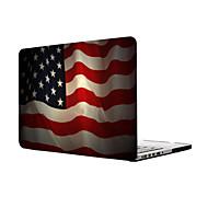 MacBook Hoes voor Vlag Plastic Materiaal