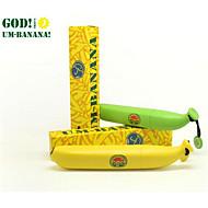 Zöld Sárga Hosszú nyelű esernyő Sunny és Rainy Fém Plastic gyerekek Utazás Nő Férfi