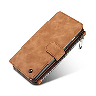 For iPhone 7 Plus Genuine Leather Multi-functional Cards Holder Wallet Case For for iPhone 6s 6 Plus SE 5s 5
