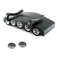 Pyöräilyvalot,Ajolamput-2 Tila 100 Lumenia Helppo Carry CR2032x2 Akku Telttailu/Retkely/Luolailu / Päivittäiskäyttöön / Kalastus Musta
