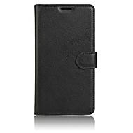 Voor Samsung Galaxy hoesje Portemonnee / Kaarthouder / met standaard / Flip hoesje Volledige behuizing hoesje Effen kleur Zacht TPU