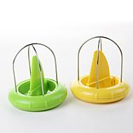 1 Cucina creativa Gadget Acciaio inossidabile / Plastica Affetta-frutta e affetta-verdure