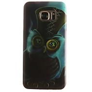 Για Samsung Galaxy S7 Edge Με σχέδια tok Πίσω Κάλυμμα tok Κουκουβάγια Μαλακή TPU SamsungS7 edge / S7 / S6 edge / S6 / S5 Mini / S5 / S4