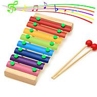 houten octaaf klop pianomuziek voor kinderen voorschoolse speelgoed verslaan