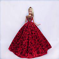 Princesse Robes Pour Poupée Barbie Rouge / Noir Robes