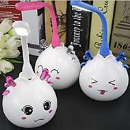 (Color Random) Cartoon Nightlight USB Charging LED Lamp Nightlight