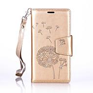 Voor Samsung Galaxy hoesje Portemonnee / Kaarthouder / Schokbestendig / Stofbestendig / Strass / met standaard / Reliëfopdruk hoesje