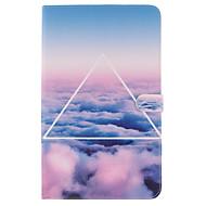 Voor Samsung Galaxy hoesje Kaarthouder / Portemonnee / met standaard / Flip / Patroon hoesje Volledige behuizing hoesje Landschap Zacht
