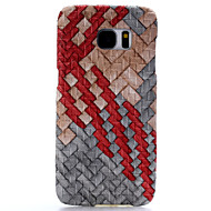 High-Quality Weave Pattern Phone Case for Samsung Galaxy S6/S6 edge/S7/S7 edge