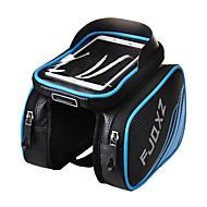 FJQXZ® 자전거 가방 3LL자전거 프레임 백 방수 / 비 방지 / 방수 지퍼 / 미끄럼 방지 / 충격방지 / 다기능 / 터치 스크린 싸이클 가방 탄소 섬유 싸이클 백 iPhone 5/5S / 다른 유사한 크기의 전화 캠핑 & 하이킹 / 사이클링
