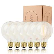 GMY 6st G95 edison lamp verticaal gloeidraad vintage 40W E26 / e27 versieren bulb