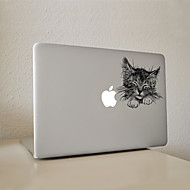 1 Pça. Resistente a Riscos De Plástico Transparente Adesivo Estampa de Desenhos Animados ParaPro MacBook 15 '' com Retina / MacBook Pro
