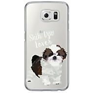 Για Samsung Galaxy S7 Edge Εξαιρετικά λεπτή / Ημιδιαφανές tok Πίσω Κάλυμμα tok Σκύλος Μαλακή TPU SamsungS7 edge / S7 / S6 edge plus / S6