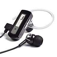 Fineblue WK-500 カナルイヤパッド(イン・イヤカナル式)Forメディアプレーヤー/タブレット / 携帯電話 / コンピュータWithマイク付き / DJ / ボリュームコントロール / ゲーム / スポーツ / ノイズキャンセ / Hi-Fi / 監視