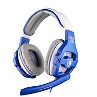 Sades WCG Hodetelefoner (hodebånd)ForMedie Player/Tablet / ComputerWithMed mikrofon / DJ / Lydstyrke Kontroll / FM Radio / Gaming / Sport
