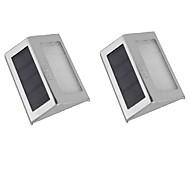 0.5 LEDソーラーライト 30 lm 温白色 / クールホワイト DIP LED 装飾用 <5V V 2枚