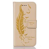 Na Samsung Galaxy Etui Portfel / Etui na karty / Z podpórką / Flip / Wytłaczany wzór Kılıf Futerał Kılıf Other Miękkie Skóra PU Samsung