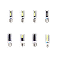 8 pcs BRELONG E14 / G9 / GU10 / B22 / E26 LED Corn Lights 42 SMD 5733 800 lm Warm White / Cool White AC 220-240 V