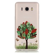 Trees TPU Material Glow in the Dark Soft Phone Case for Samsung Galaxy J110/J310/J510/J710/G360/G530/I9060