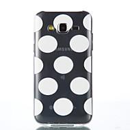 Mert Samsung Galaxy tok Átlátszó Case Hátlap Case Csempe Puha TPU Samsung J5 / Grand Prime