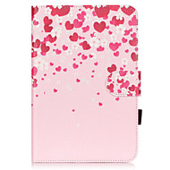 PU Leather Material Love Embossed  Pattern Tablet Sleeve for iPad mini 4