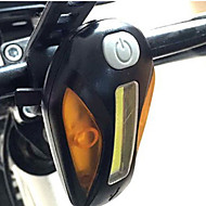 Bike Lights Front Bike Light Rear Bike Light - Cycling Easy Carrying Warning Other 100 Lumens Battery USB Cycling/Bike